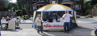 Polonia z Jezusem na Polskim Festiwalu w Toronto, wrzesien 2011