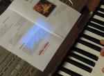 Wigilia dla Samotnych keyboard z programem