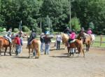 Na koniach w Erie