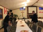 Polonijny Thanksgiving-Przygotowanie stolow