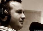 W studio Polskiego Radia w Nowym Jorku 910 AM_Henryk